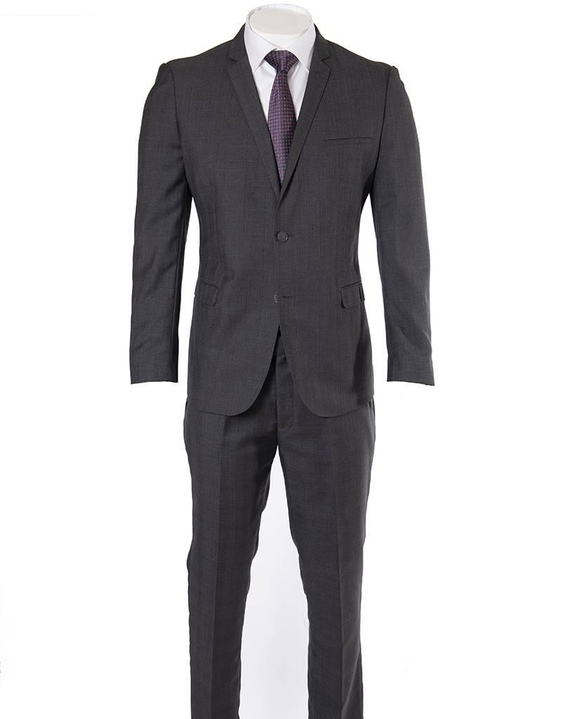 Delahaye London Collection Delahaye - Charcoal Khan Slim Suit - 5225-33