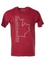HXGN HXGN - Canada Airport Codes T-Shirt - Red/White
