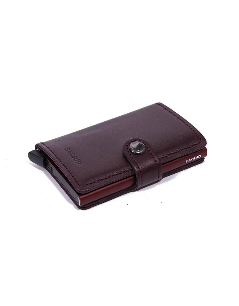 Secrid Secrid - Wallet - Miniwallet - M - Burgundy