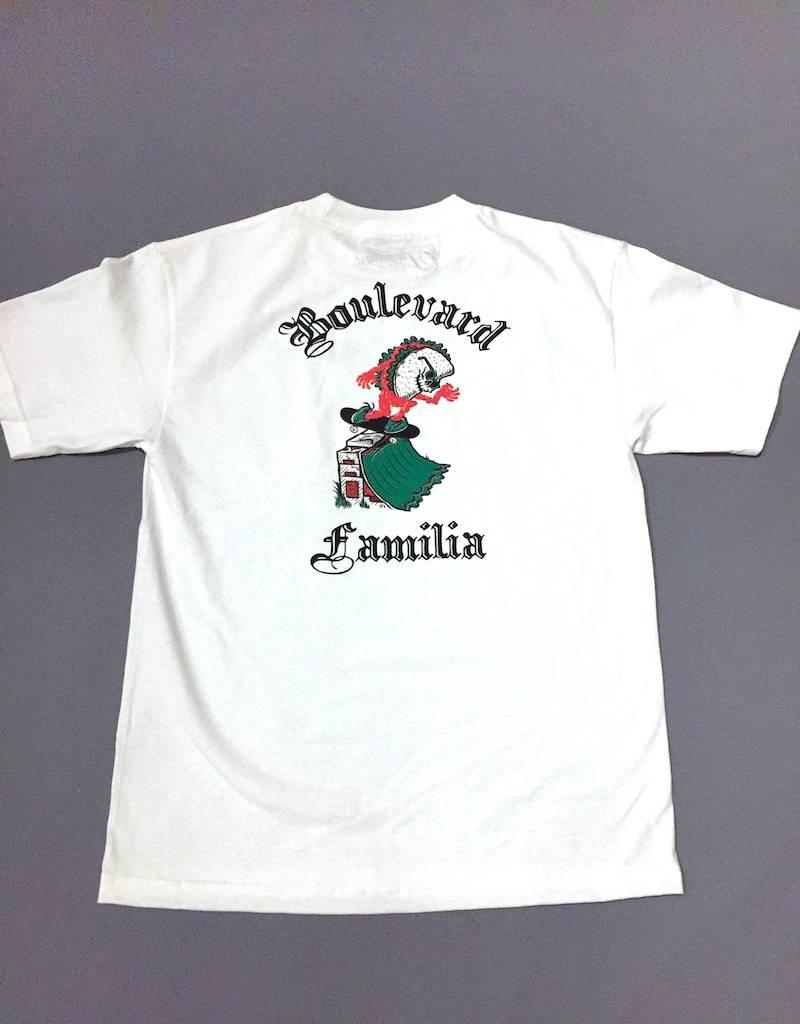 FAMILIA SKATESHOP FAMILIA X BLVD TEE