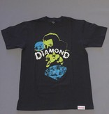 DIAMOND SUPPLY CO DIAMOND HORROR TEE