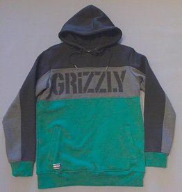 GRIZZLY GRIPTAPE GRIZZLY LONG RANGE HOODIE