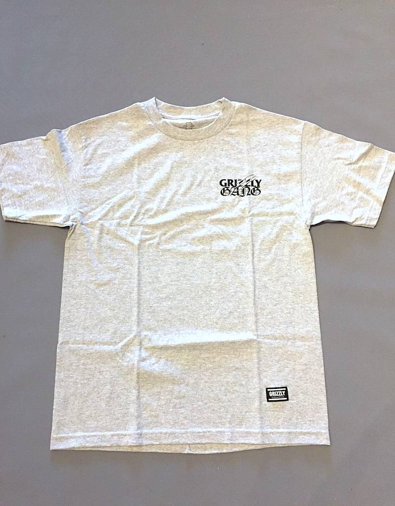 GRIZZLY GRIPTAPE GRIZZLY TERROR GANG TEE
