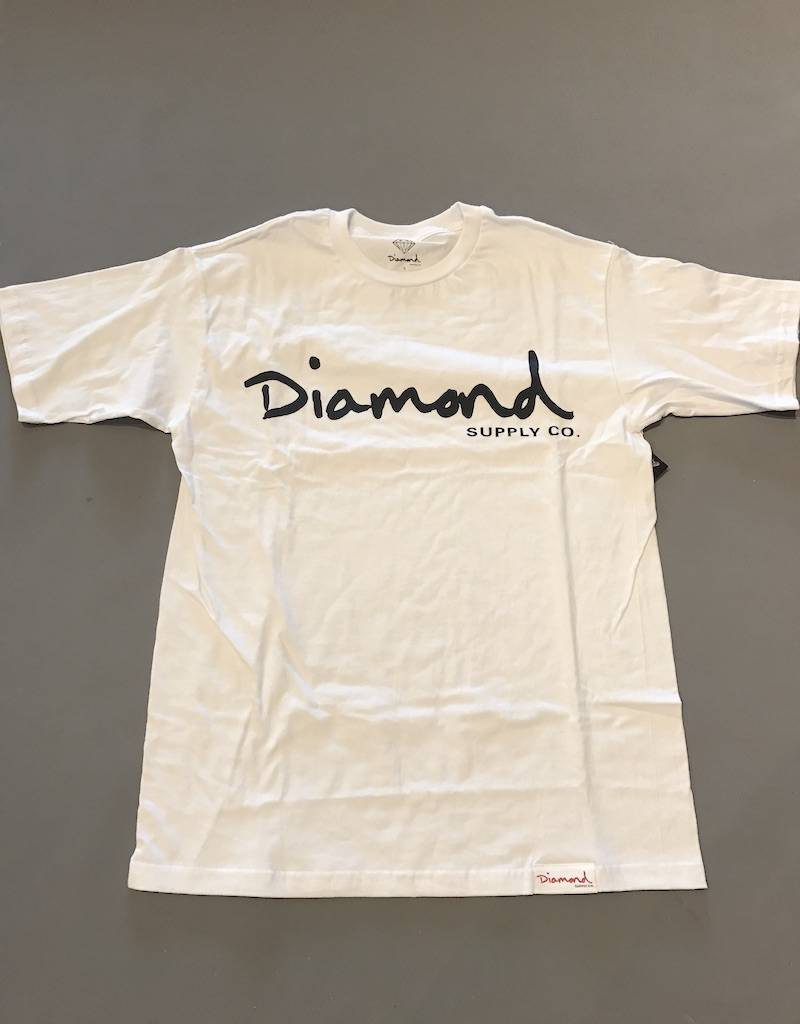 DIAMOND SUPPLY CO DIAMOND OG SCRIPT TEE
