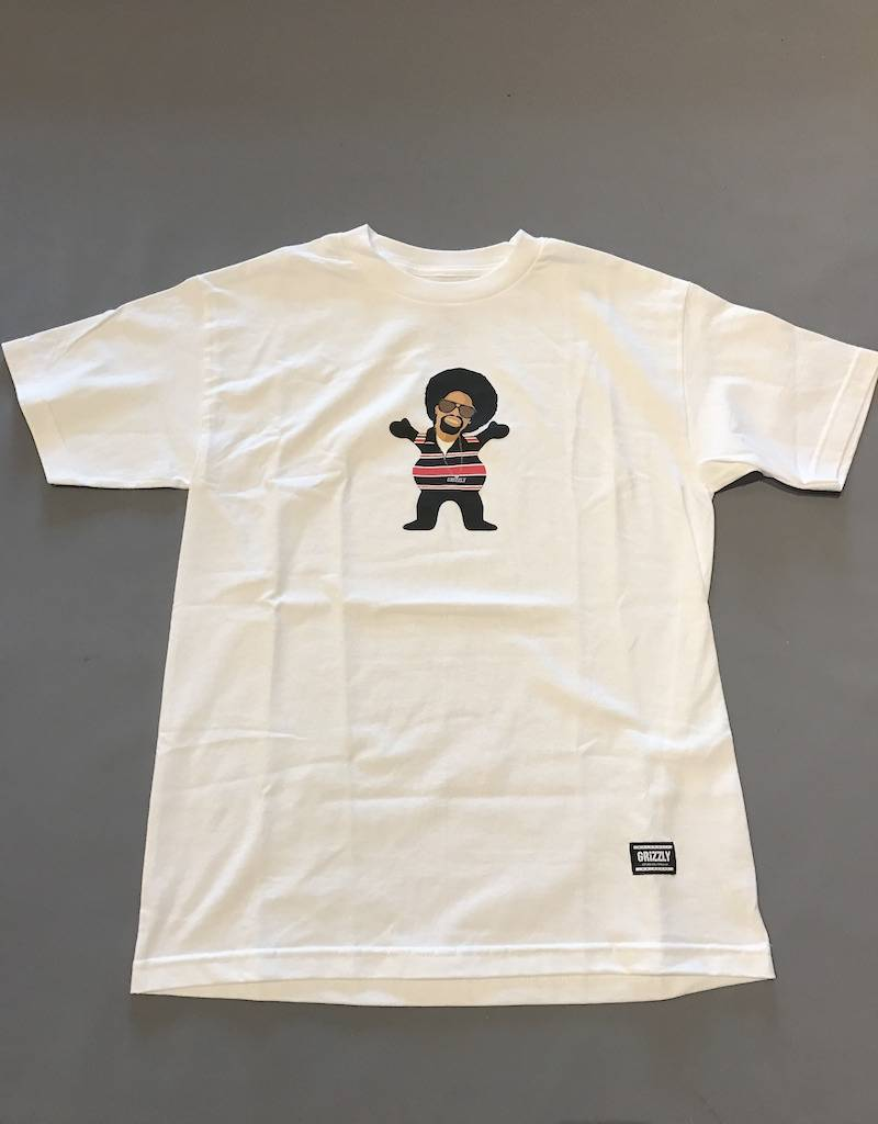 GRIZZLY GRIPTAPE GRIZZLY HYPHY BEAR TEE
