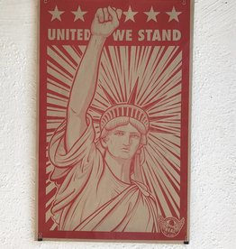 "DLX DISTRIBUTION REAL ""UNITED WE STAND"" POSTER"