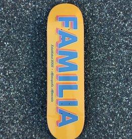 FAMILIA SKATESHOP FAMILIA TYPOGRAPHY DECK