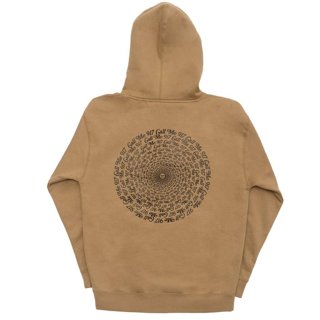 917 917 HYPNOTIC PULLOVER HOOD - CREME