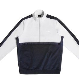 DIME DIME TRACK JACKET - GRAY/NAVY