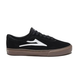 LAKAI FOOTWEAR LAKAI SHEFFIELD - BLACK/GUM