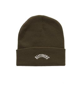 ALLTIMERS ALLTIMERS ARCH BEANIE - OLIVE