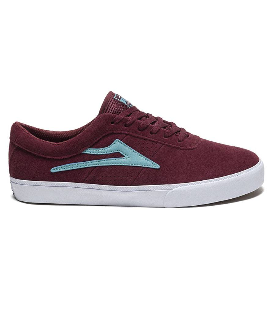 LAKAI FOOTWEAR LAKAI SHEFFIELD - BURGUNDY
