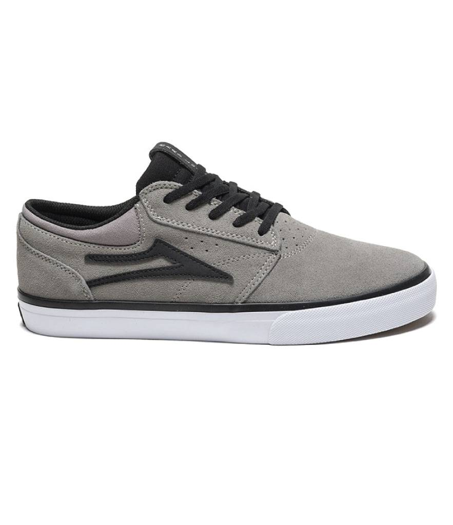 LAKAI FOOTWEAR LAKAI GRIFFIN -GREY/BLACK