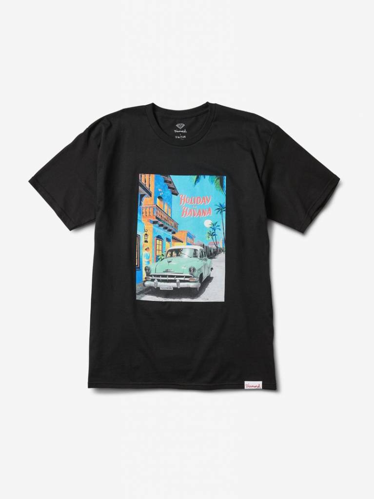 DIAMOND SUPPLY CO DIAMOND HOLIDAY HAVANA TEE