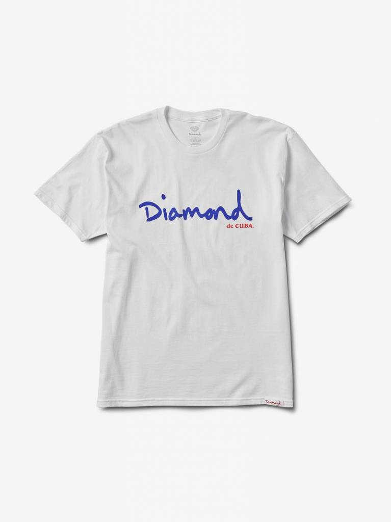 DIAMOND SUPPLY CO DIAMOND DE CUBA SCRIPT