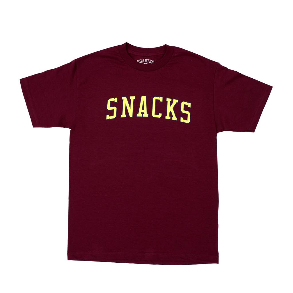 QUARTER SNACKS QUARTER SNACKS TEE - BLOCK VARSITY