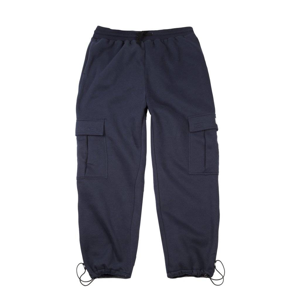 DIME DIME CARGO SWEATPANTS - NAVY