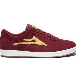 LAKAI FOOTWEAR LAKAI SHEFFIELD XLK - BURGUNDY
