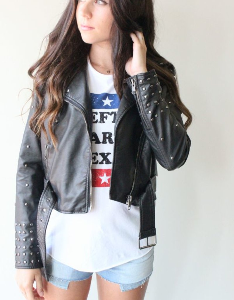 Amuse Society Amuse Society Rambler Vegan Leather Jacket