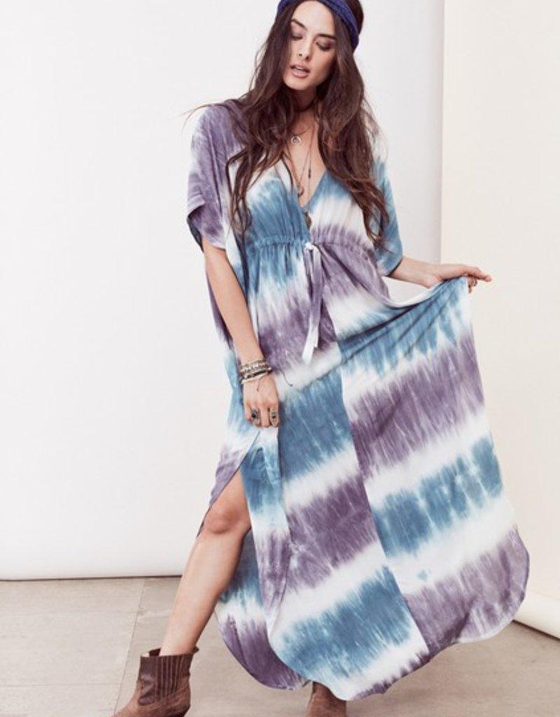 Love Stitch Theodora Tie Dye Kaftan