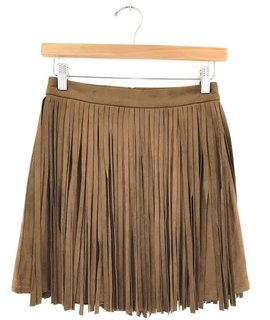 BB Dakota BB Dakota Barton Fringe Skirt