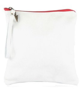 Vaalbara Vaalbara Medium Clutch-White
