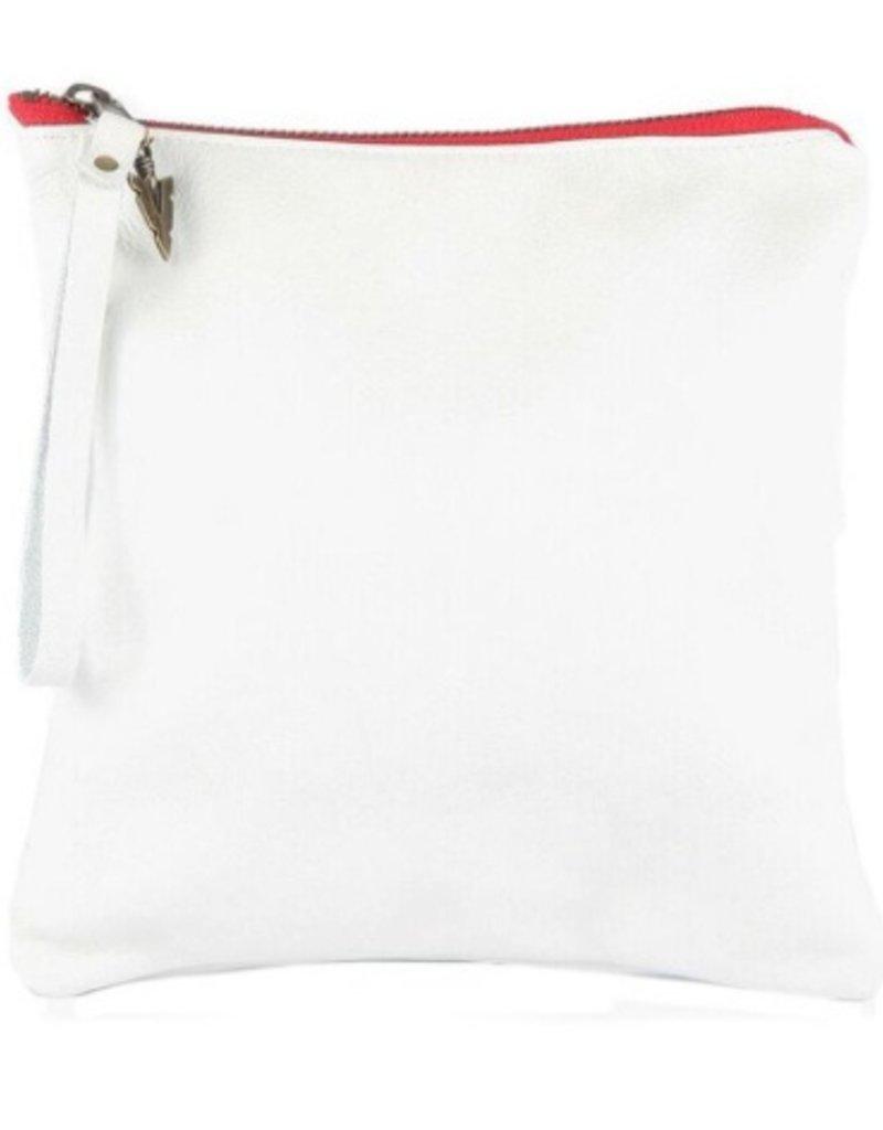Vaalbara Vaalbara Medium Clutch-White