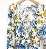 Audrey 3+1 Audrey 3+1 Floral Flare Sleeve Romper