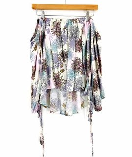 Audrey 3+1 Audrey 3+1 Floral Off the Shoulder Bubble Top