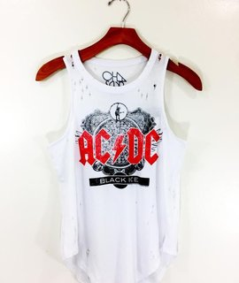 Chaser Brand Chaser  ACDC Cotton Basic Muscle Tank