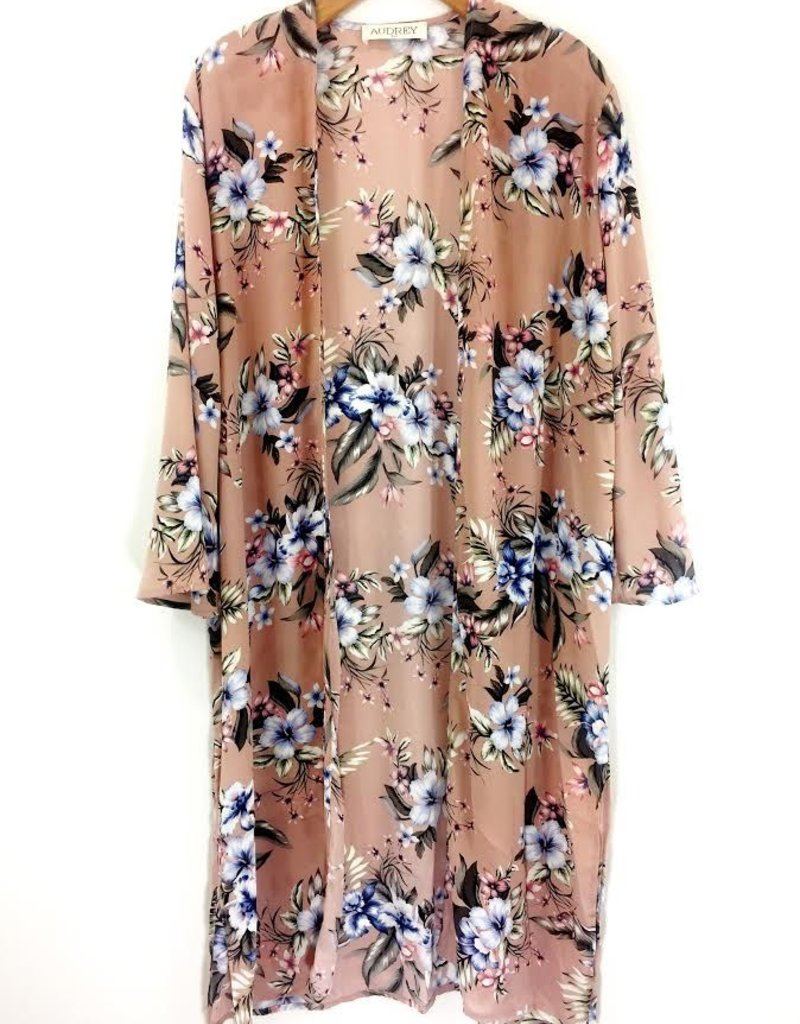 Audrey 3+1 Audrey 3+1 Baby Floral Duster Cardigan
