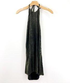 Chaser Brand Chaser Heriloom Halter Top Mini Dress