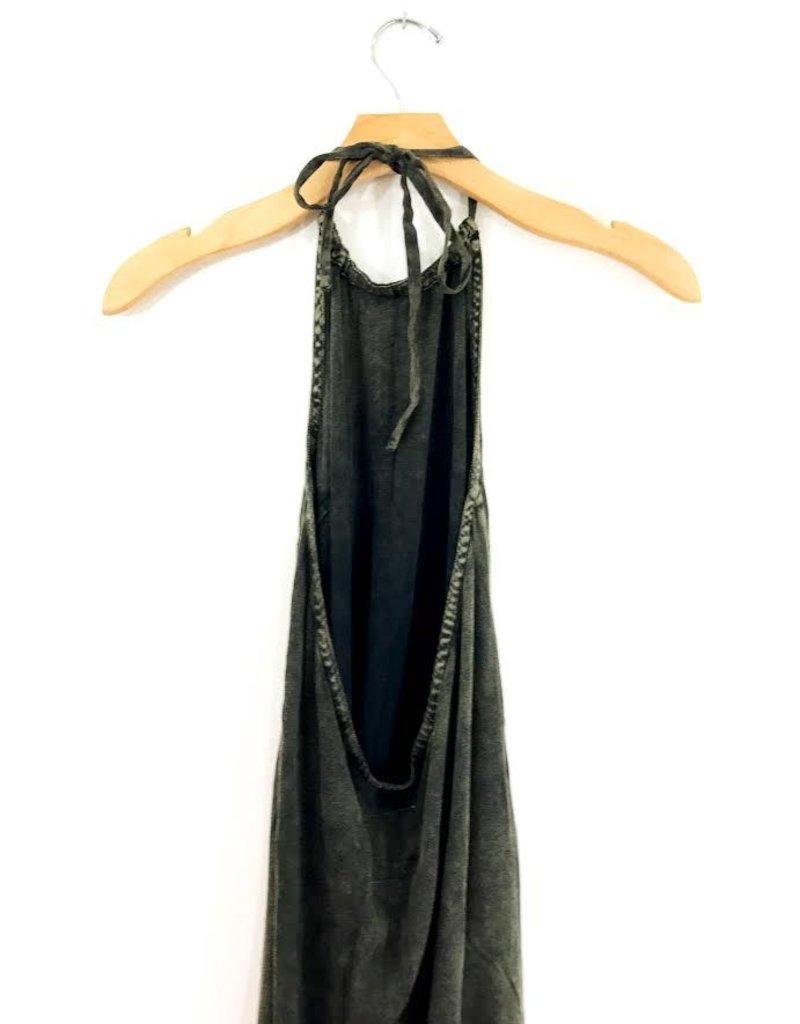 Chaser Brand Chaser Heirloom Halter Top Mini Dress