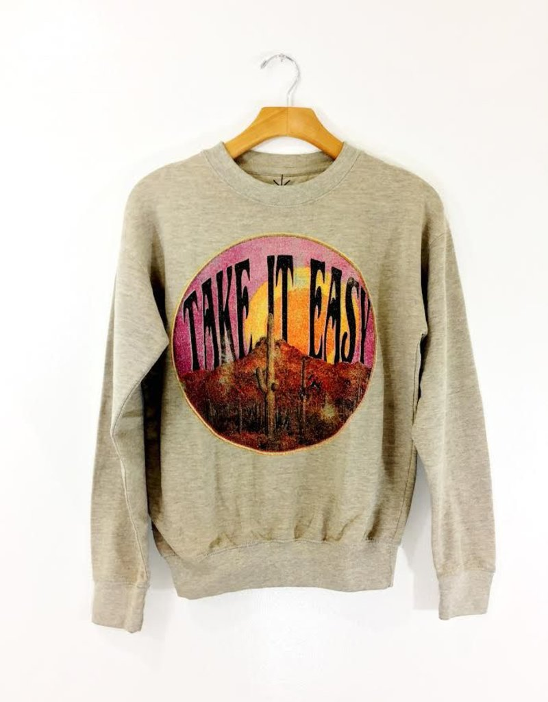 Life Clothing Co Life Clothing Co Take it Easy Sweater