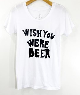 Life Clothing Co Life Clothing Co Wish You Were Beer Bleu Tee