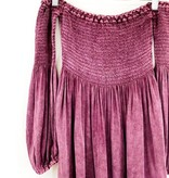 Chaser Brand Chaser Off the Shoulder Bardot Mini Dress