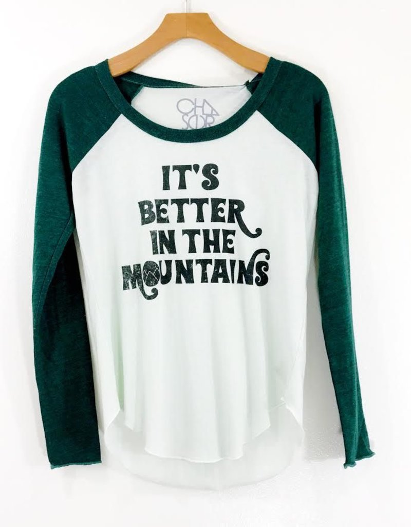 Chaser Brand Chaser Better in the Mountains Blocked Vintage Jersey