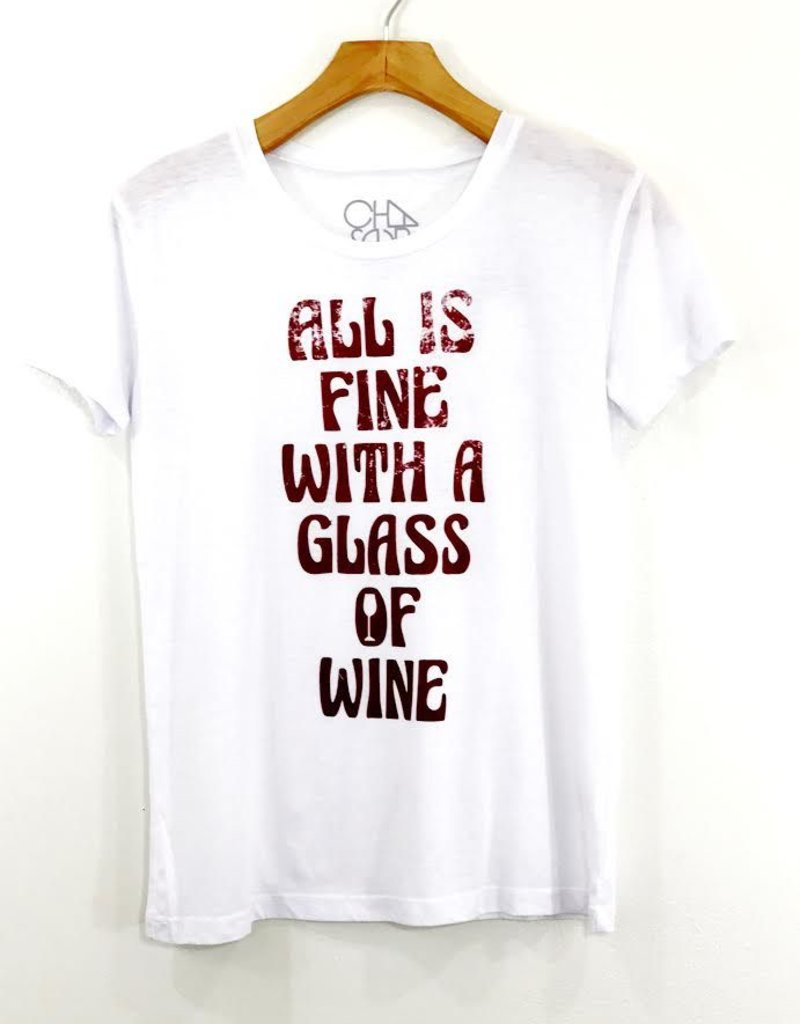 Chaser Brand Chaser All is Fine Vintage Jersey Tee