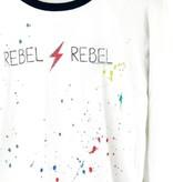 Chaser Brand Chaser David Bowie Rebel Rebel Raglan Pullover