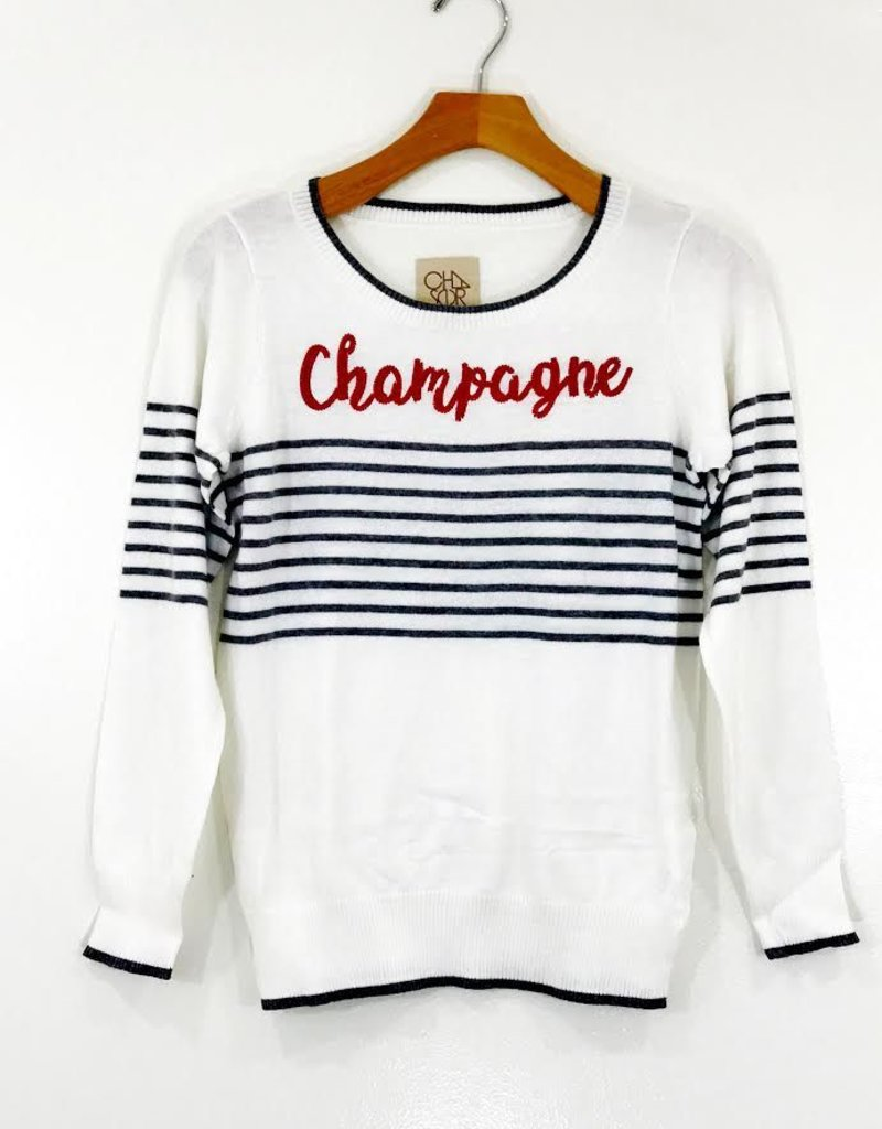 Chaser Brand Chaser Cotton Cashmere Champagne Pullover