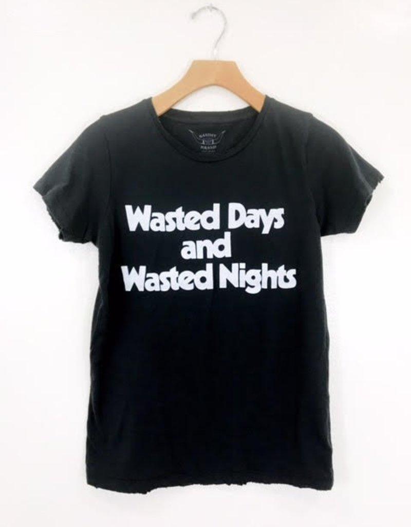 Bandit Brand Bandit Brand Wasted Days & Nights Women's Tee