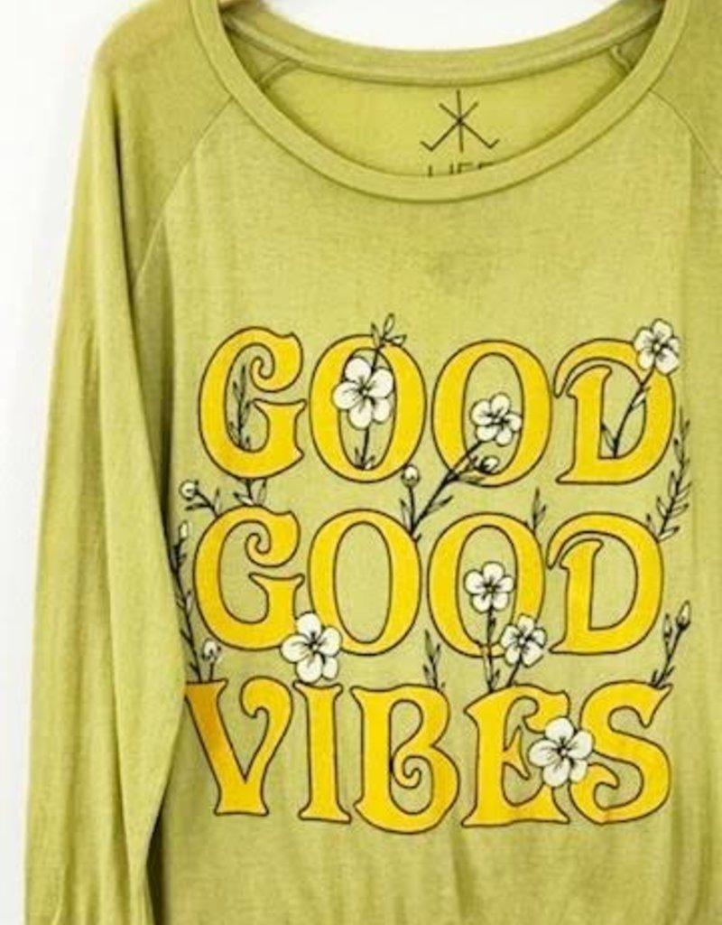 Life Clothing Co Life Clothing Co Good Good Vibes Sweatshirt