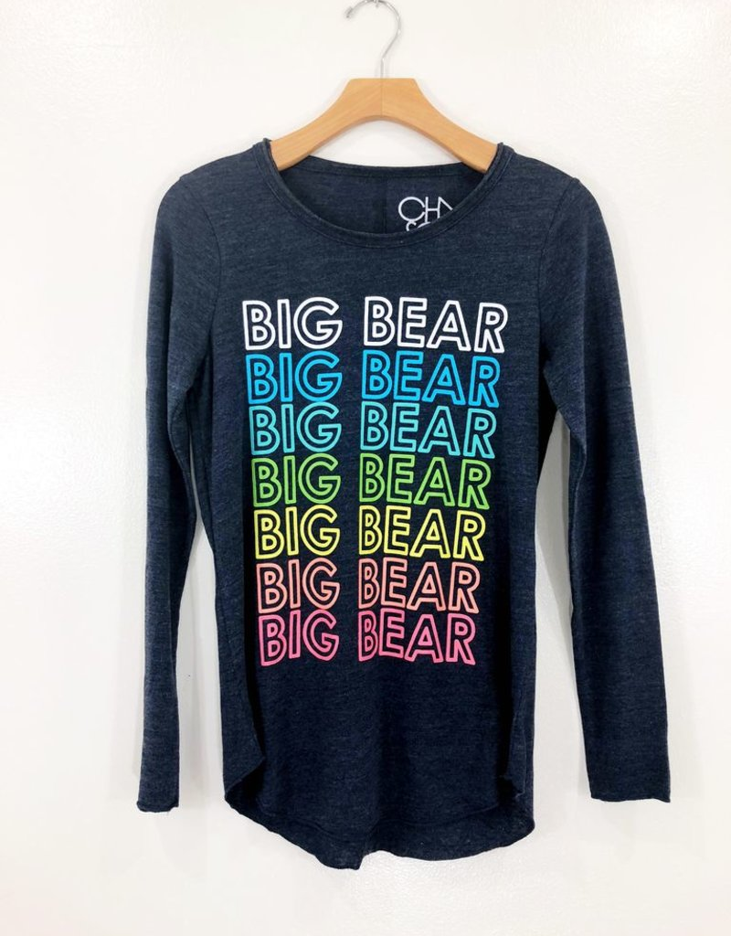Chaser Brand Chaser Jersey L/S Big Bear Crew Neck