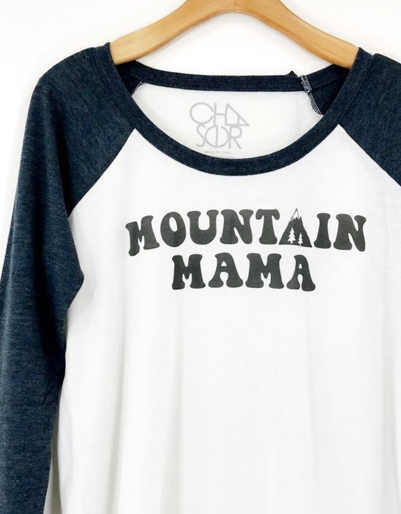 Chaser Brand Chaser L/S Mountain Mama Vintage Jersey