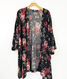 Audrey 3+1 Audrey 3+1 Floral Hachi Kimono