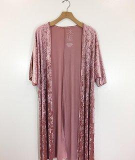 Life Clothing Co Life Clothing Co Crushed Velvet Kimono
