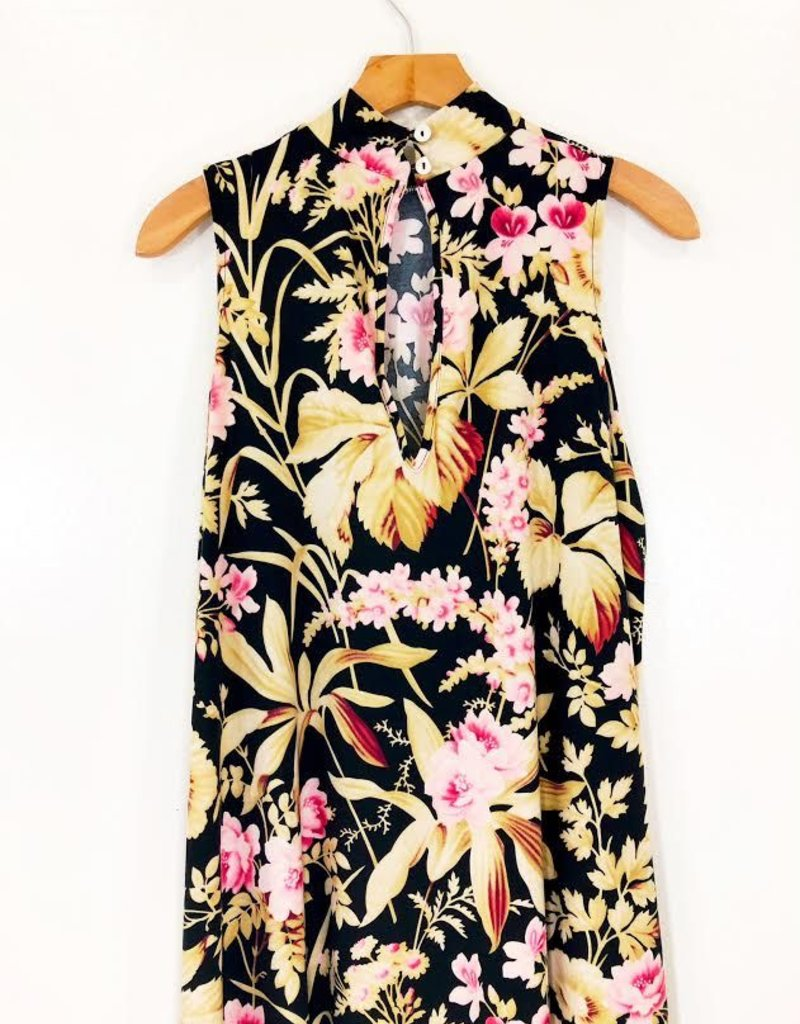 Show Me Your Mumu Show Me Your Mumu Brady Tunic Botanical Beauty Spandy
