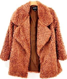 Audrey 3+1 Audrey 3+1 Shaggy Fur Jacket