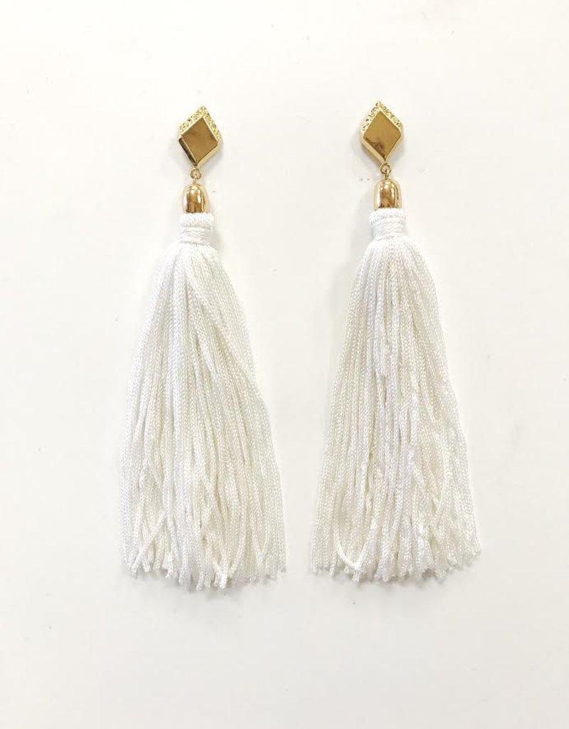 Ettika Ettika Mon Cheri Tassel Earrings