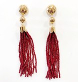 Ettika Ettika Beaded Mini Duster Earring